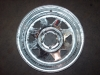 "13"" Galvanized Spoke Rim, 5 x 4.5"" BP"