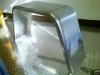 10x33 Smooth Aluminum Jeep Style Fender