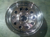 "13&quot X 4.5"" Chrome Modular Hole Rim  5Hx4.5 BP with Rivets"