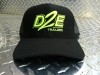 D2E Trailer Hat Black / Fluorescent Green