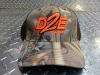 D2E Trailer Hat Camo King's / Orange