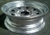 "13"" Galvanized Spoke Rim, 4 x 4"" BP"